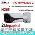 Free Shipping DAHUA CCTV IP Camera 2MP FULL HD Starlight IR Bullet Network Camera IP67 IK10 With PoE Without Logo IPC-HFW8232E-Z