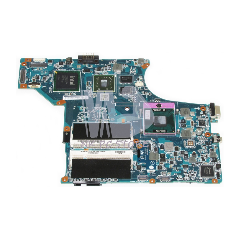 A1555331A Motherboard For Sony VGN-SR M750 MBX-190 Main Board 1P-0084100-A011 PM45 DDR2 Discrete Graphics Free CPU