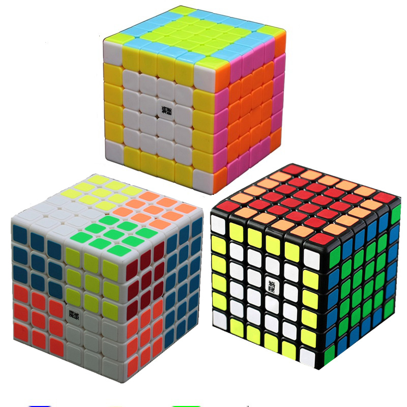 YJ MoYu AoShi 6x6x6 69mm vitesse Puzzle Cube professionnel torsion Cubes Cubo Magico classique apprentissage jouets éducatifs enfant cadeaux
