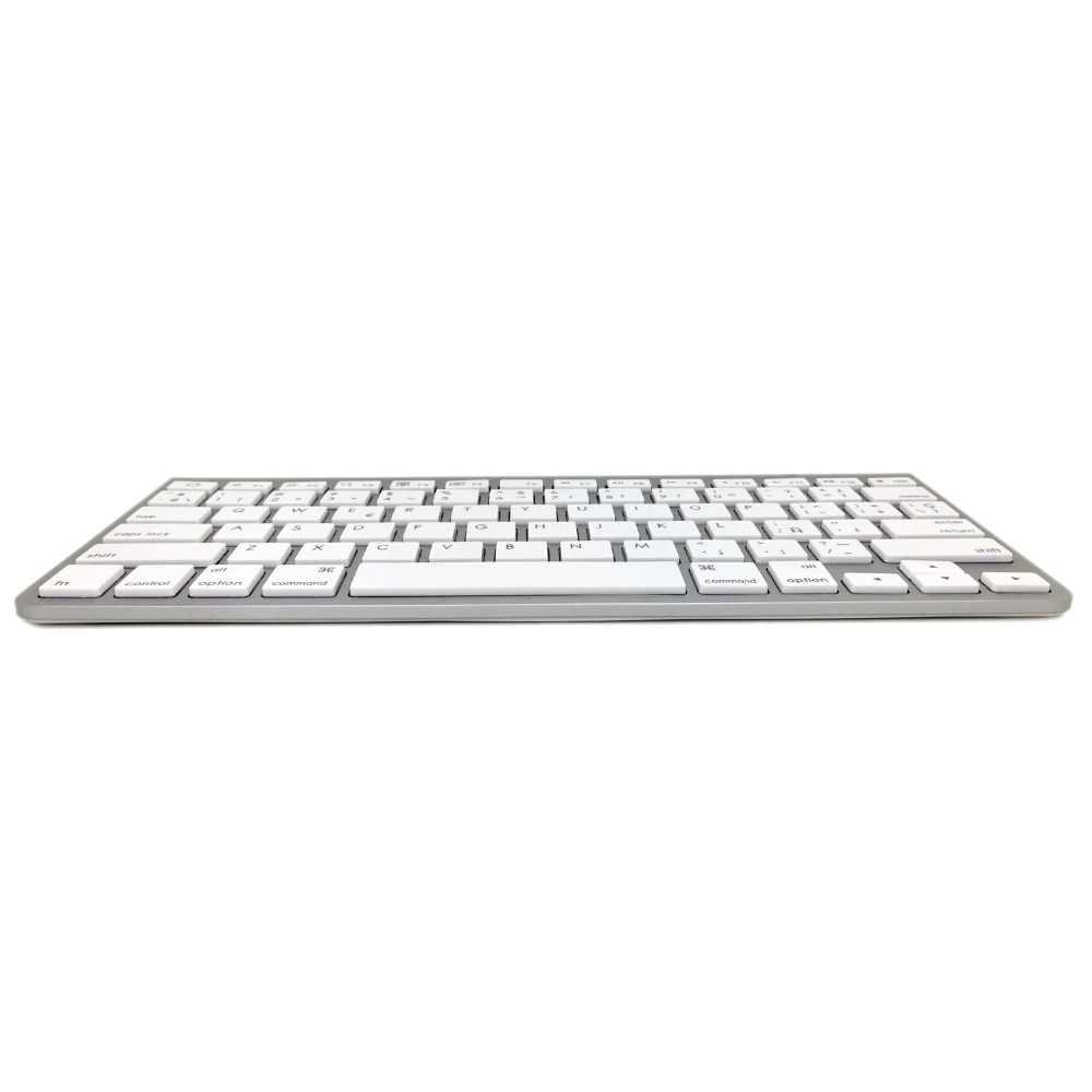 Русский Иврит испанский ультра-тонкий немой Bluetooth клавиатура Scissor Беспроводная клавиатура для беспроводной Apple клавиатура стиль IOS WIN