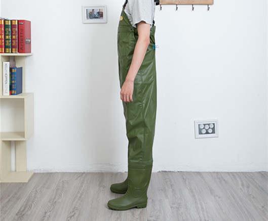 663183e7b3 US $57.94 24% di SCONTO Outdoor uomo donna elastico in vita lancio siamesi  pantaloni di pesca anche le scarpe da pioggia scarpe di acqua stivali da ...