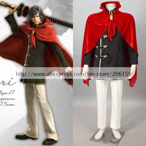 Аниме Final Fantasy Тип Machina мужской Косплэй куртка Штаны и аксессуары Одежда мультипликационный персонаж Hallowmas партии костюм