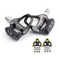 Catazer 298g Racer Road Bike Bicycle Self Lock Pedal Aluminum Alloy Bearing Pedal With SPD SL