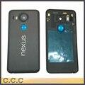 Оригинальный для LG Google Nexus 5x назад крышку корпуса батареи случае