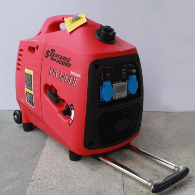 3000w Watt Gasoline Generator Silent 3kw Kilowatt Small Car Digital Inverter