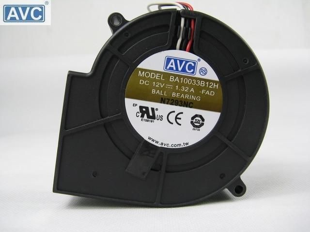 Server Cooling Fan AVC BA10033B12H-FAD 97x94x33mm DC12V 1.32A Server Blower Fan 4-wire