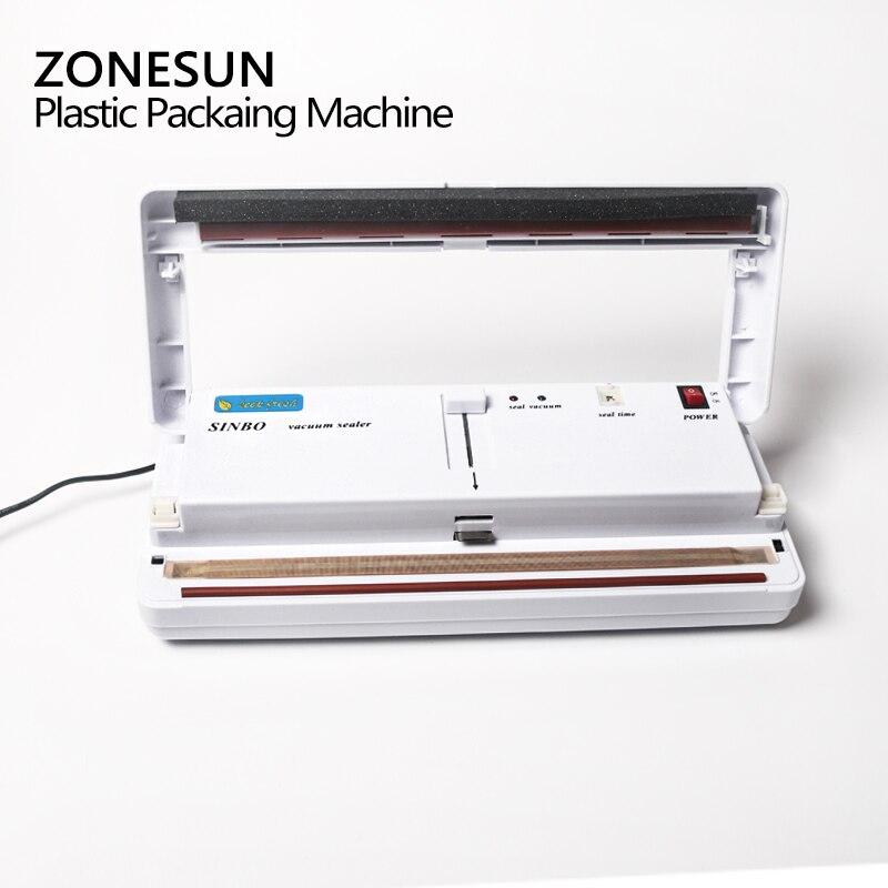ZONESUN petite Machine d'emballage sous vide domestique pompe à vide Machine de conservation des aliments - 2