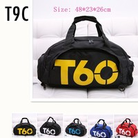 2016 New Gym Bag T90 Brand Waterproof Outdoor Men Luggage Travel Bag Men S Backpack Hand