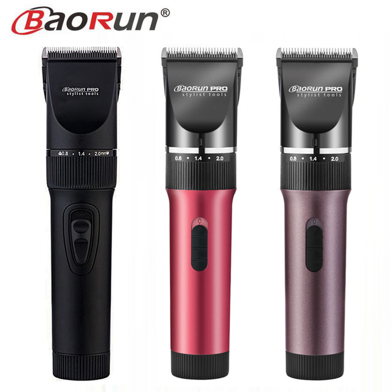 BAORUN Professional Dog Hair Clipper Rechargeable Pet Hair Trimmer Pet Scissors Dog Grooming Cutting Machine