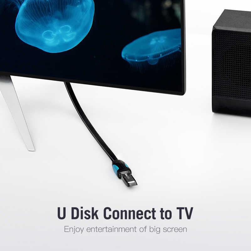 Vention USB câble d'extension USB 3.0 câble pour caméra PC PS4 Xbox Smart TV haute vitesse chargeur et données USB 3.0 2.0 câble d'extension