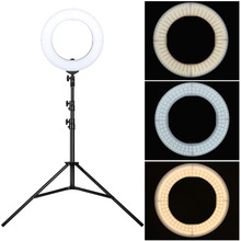 Zomei 58W 3200K 5500K Photographic Ring Light With Tripod Stand For Smartphone Photography Studio Selfie Photo