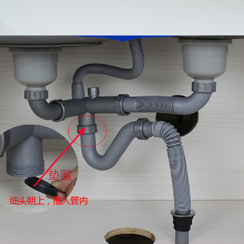talea 5piece black rubber sink drain hose sealing washer seal gasket ring o ring washer seals watertightness assortment