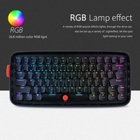Dual Mode Bluetooth Wireless RGB Backlight Tablet Mobile Phone Desktop Notebook Mechanical Keyboard for PC Computer High Quality