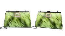 Женщины сумочка девушки сумочка Модный клип плече сумка моды диких тиснением цепь отдых конверт мешок(China (Mainland))