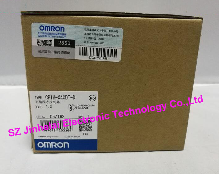New and original CP1H-X40DT-D OMRON Plc controller module new and original cp1h xa40 dr a omron plc controller module