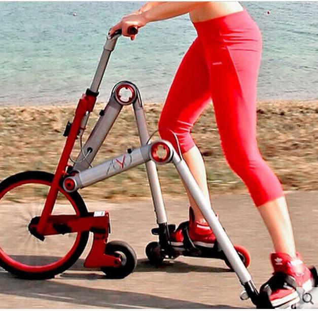 Uusi merkki Toisen sukupolven 3-pyöräinen luistelupyörä - Pyöräily - Valokuva 4