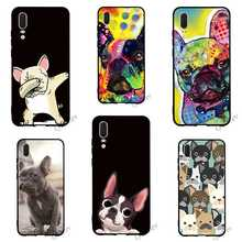 Hybrid French Bulldog Dog Phone Cover for Huawei Mate 10 Lite Case 20 P8 P20 Pro
