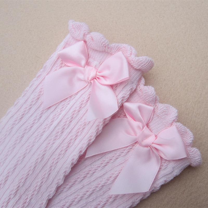 Baby-Girls-Knee-High-Socks-Kids-Children-Cute-Lace-Bows-Princess-leg-Warmers-Solid-Cotton-Girl-Long-Tube-White-Socks-1-6years-4