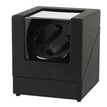 Automatic Watch Winder Case Holder Mechanical Watch Double Winding Display Organizer Luxury Motor Shaker PU Leather Rotating Box - DISCOUNT ITEM  41% OFF All Category