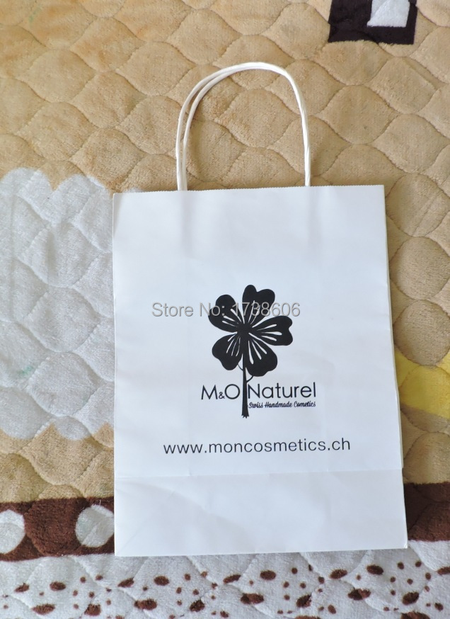 Custom Printed Gift Kraft Paper Bags Ping Bag Ng In Wring Supplies From Home Garden On Aliexpress Alibaba Group