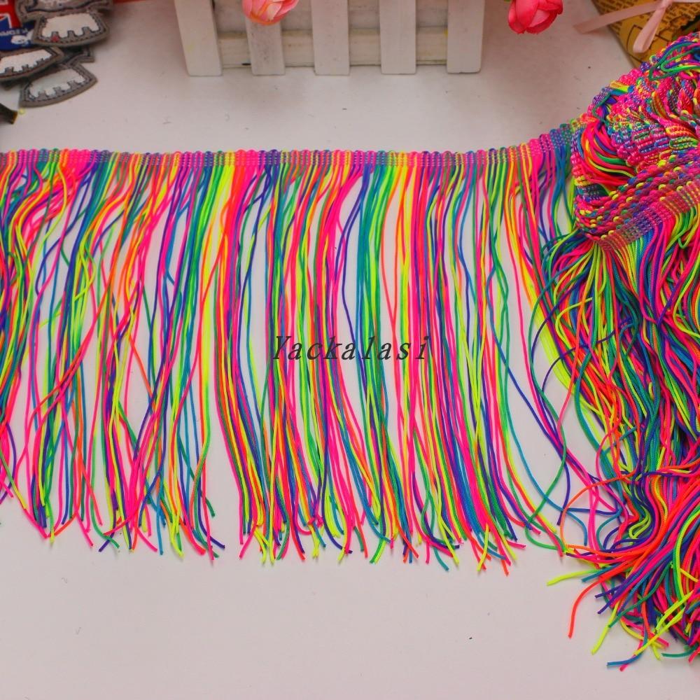 Chainette Fringe Tassel Various Colors 5 Yds նեյլոնե - Արվեստ, արհեստ և կարի - Լուսանկար 4