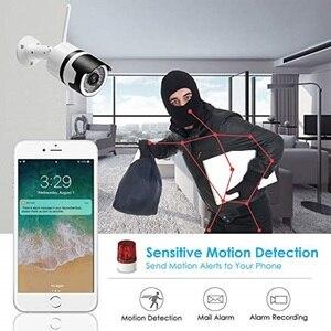 Image 5 - CPVan IP6 IP המצלמה HD 1080P WiFi Bullet מצלמה עם עמיד למים ראיית לילה זיהוי תנועה אלחוטי חיצוני וידאו Surveillanc