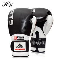 High Quality Boxing Gloves Black Red Blue 10oz Sanda Karate Sandbag Taekwondo Protector MMA Boxeo Muay