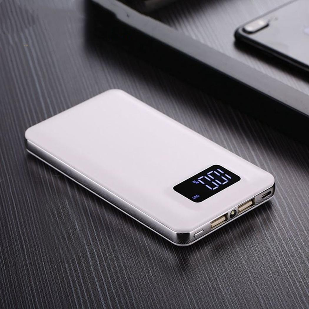 30000 mAh General Portable  PowerBank Dual USB External Battery Charge Power Bank With LED Light with two output ports30000 mAh General Portable  PowerBank Dual USB External Battery Charge Power Bank With LED Light with two output ports