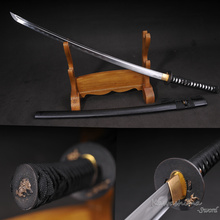 Training Katana Sword Full-Tang-Blade Iaito High-Carbon-Steel with Light-Weight No-Sharp/sharpness-Supply