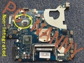 2GB! P5WE0 LA-6901P MBRCG02006 FOR Acer Aspire 5750 5750G 5755G laptop motherboard Non-Integrated working pretty well