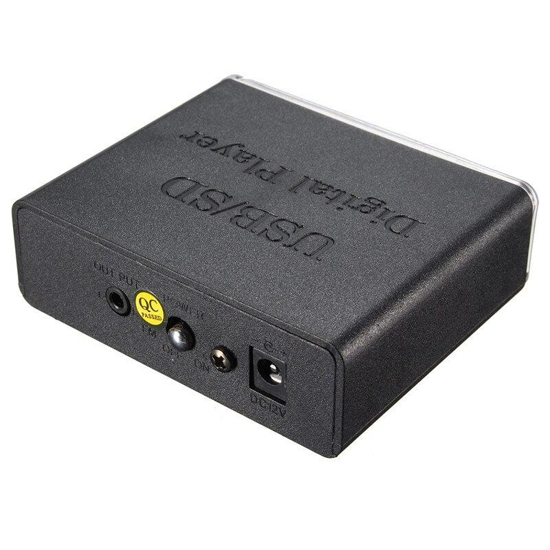 12V Amplifier Kuasa Mudah Alih MP3 SD USB Audio Player Reader - Audio dan video rumah - Foto 4