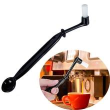 Чистящая Щетка для машины кофе с ложкой для машины эспрессо/инструмент для очистки кофе