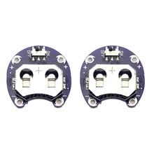 2 X Supporto Della Batteria a Bottone per CR2032 Con Interruttore (2 Pcs)