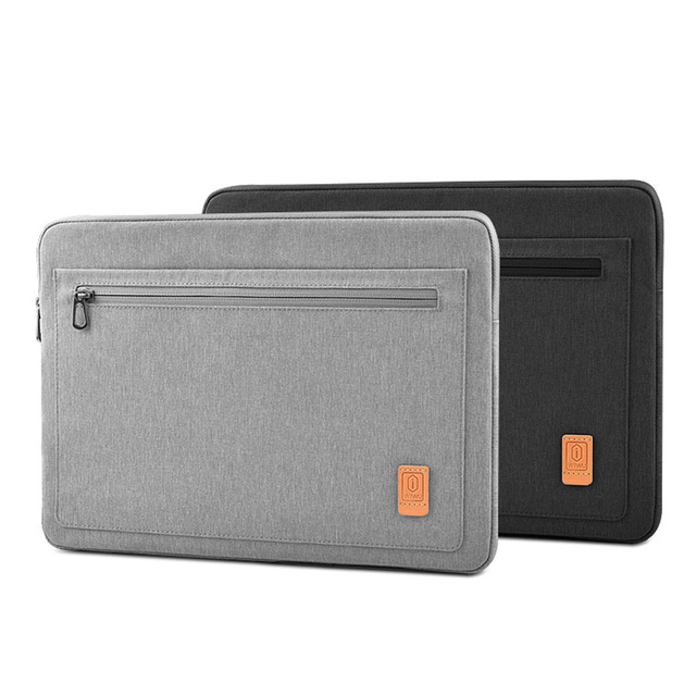 WIWU مقاوم للماء كم محمول لماك بوك برو 13 2019 A2159 حقيبة كمبيوتر محمول الحال بالنسبة لماك بوك برو 16 بوصة حقيبة دفتر الموضة 14 بوصة