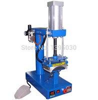 1 pc air máquina da imprensa do tampão. pneumática da imprensa do calor da máquina