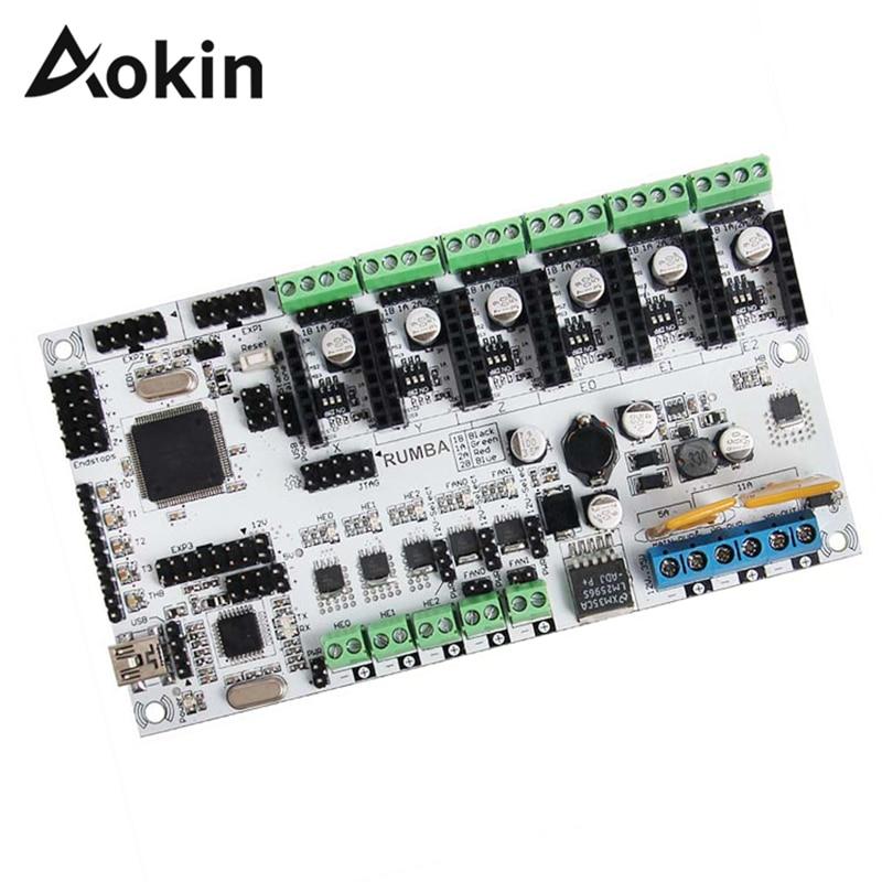 Aokin 3D imprimante carte mère Rumba carte de contrôle principale imprimante 3D carte de contrôle