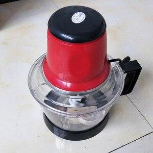 Image 3 - 3L Leistungsstarke Fleisch Grinder Spice Knoblauch Gemüse Chopper Elektrische Automatische Fleischwolf Haushalt Grinder Lebensmittel Prozessor