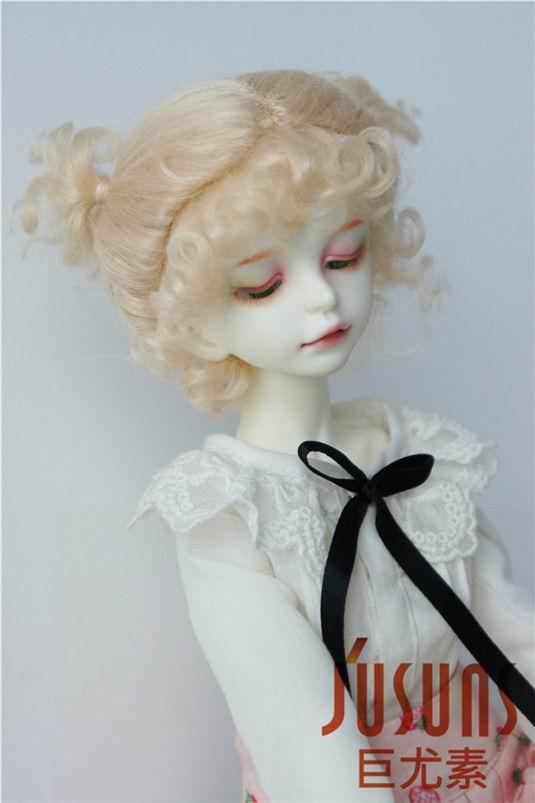 JD269 1/4 1/3 MSD SD Мода BJD парик для куклы мохеровый Размер 7-8 дюймов 8-9 дюймов прекрасная Двойная чаша BJD волосы