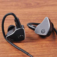 LZ A6 In Ear Earphone 1DD+4BA+1 Piezoelectric Ceramics Drive Hybrid 6 Units HIFI IEM Earbud Replaceable Nozzle MMCX Detachable