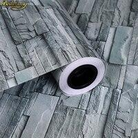 beibehang 60X500cm Waterproof Self adhesive brick Wallpaper for kitchen PVC sticker waterproof wall paper living room home decor
