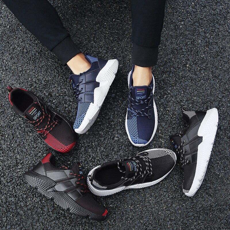 Nouveaux Respirant Plus Jogging Chaussures Pour blue Mode Adulte Sports Baskets Designer Appartements heihong Plein Taille Black Homme 48 39 Air De Hommes Maille XC7nwqadx
