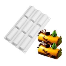 Инструменты для украшения торта рулон силиконовые формы форма для шоколадных десертов Twinkie чай-время торт десерт конфеты принадлежности для выпечки