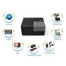 Wavlink USB3.0 Двойной Видео Универсальная Док-Станция Внешний Разъем DisplayLink HD 1080 P 2048×1152 DVI HDMI USB Hub быстрая Зарядка