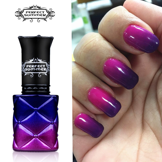 Perfect Summer Gel Polish Chameleon Temperature Color Change Nail Uv Led Soak Off