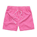 2017 High quality summer Polos Brand men's Beach Shorts 100% cotton Male  shorts Top Quality shorts men stripe Board Shorts