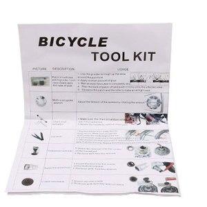 Image 3 - Cyrusher 26 in 1 Mountain Bike Toolbox Sets Tire Repair  Repair Tool Kits Sets bicycle Universal Home Outdoor Tools