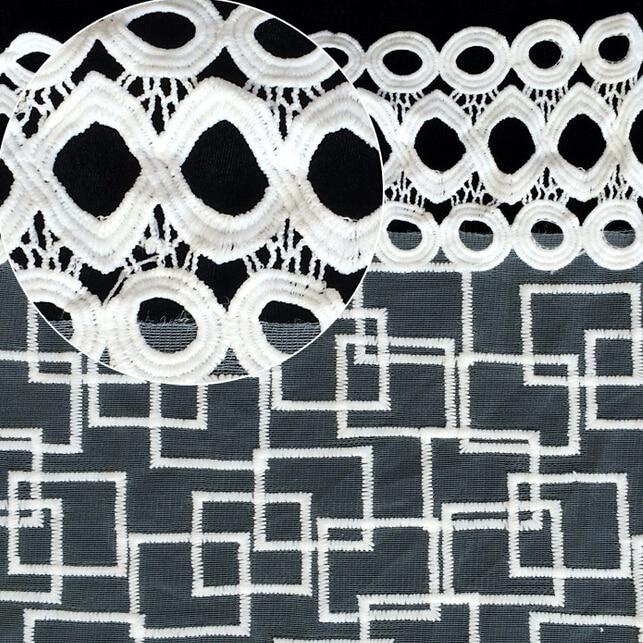 Envío Gratis 5 Yarda de Alta Calidad Africana Del Cordón Neto 2017 - Artes, artesanía y costura