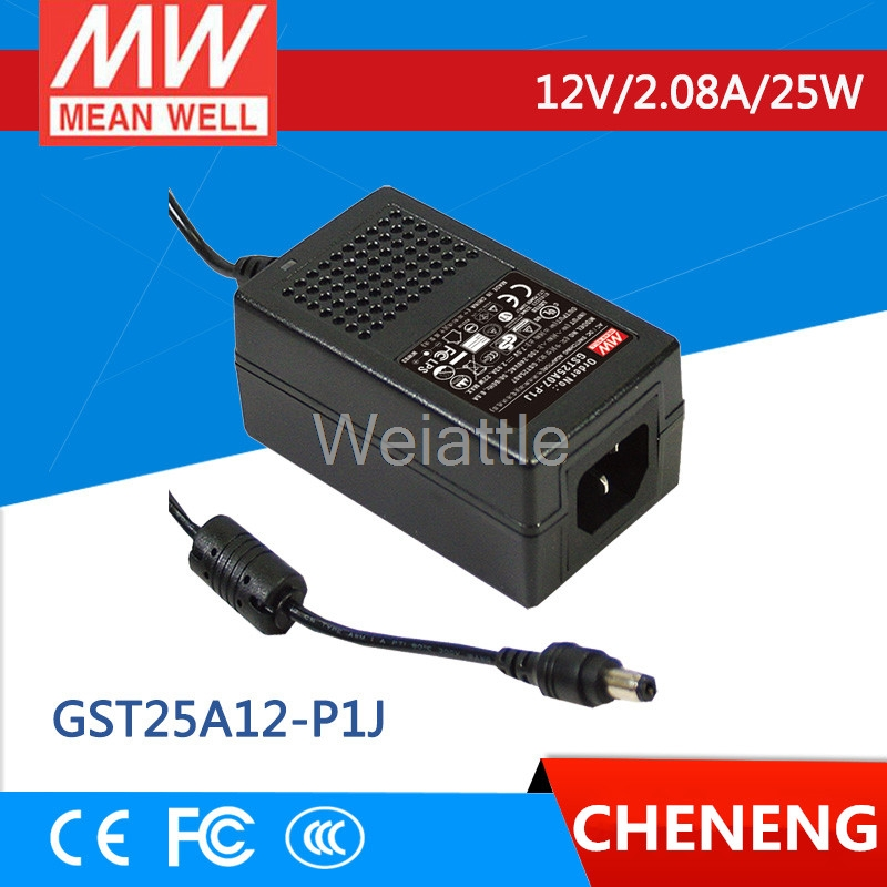 Desktop Industrial Adapter 102W 12V 8.5A GST120A12-R7B Meanwell AC-DC SMPS GST120A MEAN WELL Switching Power Supply
