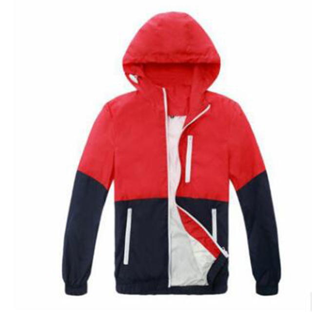 Fashion Windbreaker Jacket Coats Men Women Hooded Jackets Casual Coats Couple Clothing Male Outwear Spring Autumn New