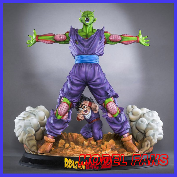 MODEL FANS INSTOCK Dragon Ball Z 38cm Piccolo protect Son Gohan gk statue figure toy for Collection
